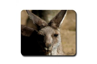 Kangaroo Nature Mousepad by CafePress
