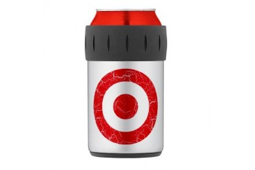 Turkey Roundel Thermos Can Cooler Art Thermosreg; Can Cooler by CafePress