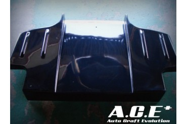Auto Craft Rear Under Diffuser 02 Type B - Carbon Mazda RX-7 FD3S 93-02
