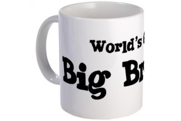 World's Greatest: Big Brother Family Mug by CafePress
