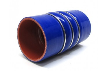 HPS 2.5 Inch 4-ply Reinforced CAC Charge Air Cooler Silicone Hose Coupler Cold Side