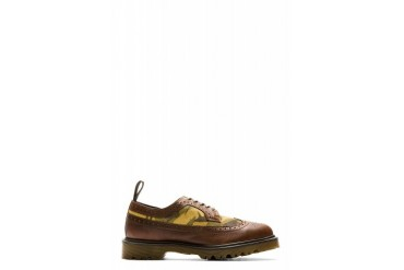Dr. Martens Brown Leather And Suede 3989 Brogues