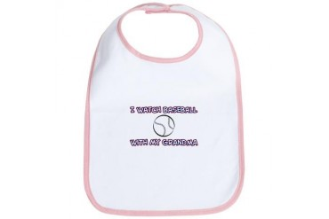 Baseball - Grandma Sports Bib by CafePress