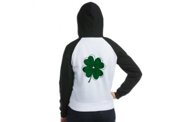 IRISH PRINCESS Holiday Women's Raglan Hoodie by CafePress