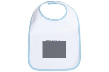 I have Daddy... Baby girl Bib by CafePress