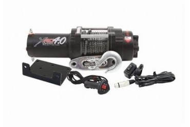Smittybilt XRC4.0 Comp Series 4,000 lb. Compact Winch 98204 3,000 to 6,000 lbs. ATV Winches