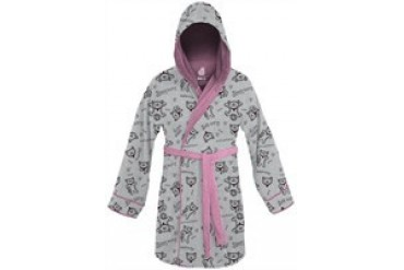Big Bang Theory Soft Kitty All Over Jumble Hooded Junior Fleece Robe