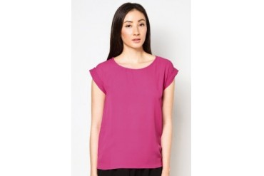 Cats Whiskers Plain Chiffon Top