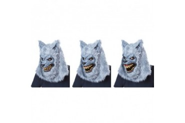 Blood Moon Werewolf Halloween Mask