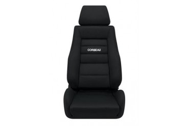 Corbeau GTS II Recliner Seat in Black Cloth 20301PS Seat