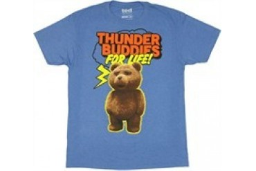 Ted Thunder Buddies For Life T-Shirt Sheer