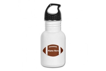 Personalized Football Kid's Water Bottle