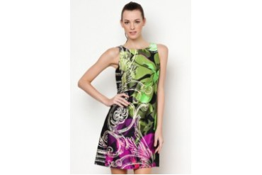 Jefferson Printed Sleeveless Dress