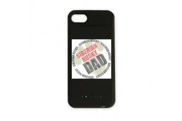 Siberian Husky Dad Pets iPhone Charger Case by CafePress