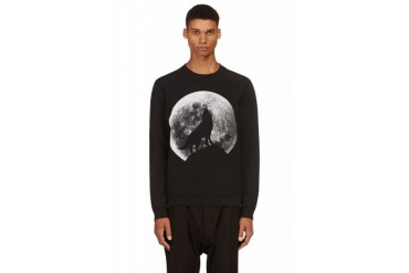 Diesel Black Howling Wolf S anil Sweater