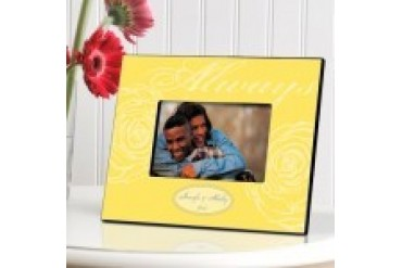 Engravable Gift Collection Couple's Always Frame- Style GC860always