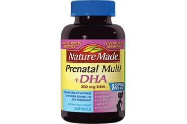 Nature Made Prenatal Multi DHA Liquid Softgels