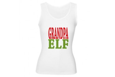 Grandpa Elf Christmas Women's Tank Top by CafePress