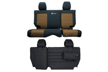 Trek Armor Rear Split Bench Seat Cover TAJKSC2013R4BC Seat Cover