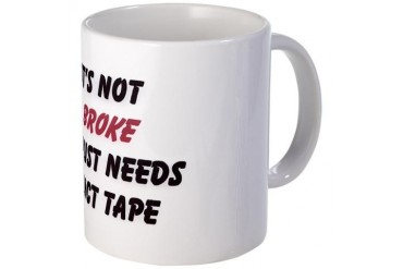Duct Tape Funny Mug by CafePress