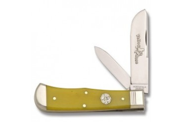Northfield Yellow Rose End Cap Trapper with Yellow Smooth Bone Handle