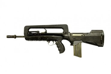 FAMAS 5.56mm assault rifle.
