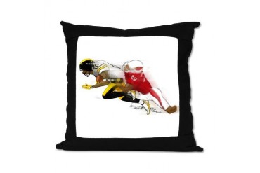 keep ahead Sports Suede Pillow by CafePress