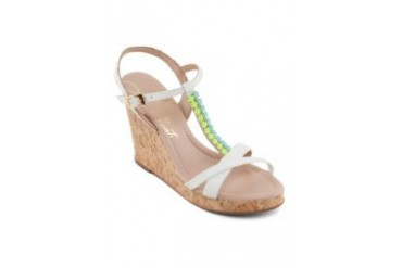Lilly's Closet Wedge Sandals Chain