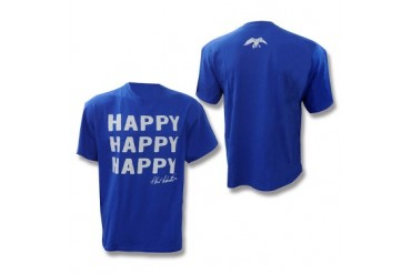 Duck Commander Happy Happy Happy T-Shirt - Royal Blue - S
