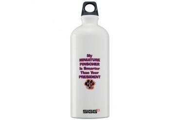 MINPINPRESIDENT.png Pets Sigg Water Bottle 1.0L by CafePress