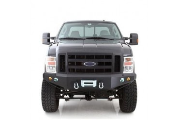 Smittybilt M1 Ford Superduty Winch Mount Front Bumper with D-ring Mounts and Light Kit 612831 Front Bumpers