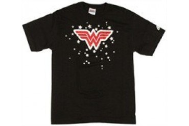 DC Comics Wonder Woman Stars Symbol T-Shirt