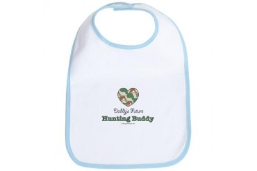 Daddy's Future Hunting Buddy Bib