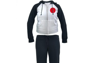 Flag of Japan Flag Women's Tracksuit by CafePress