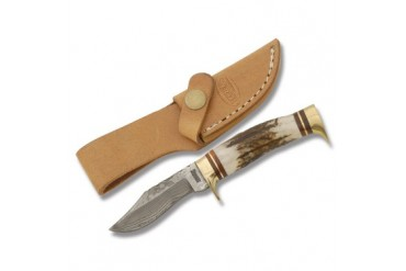 Marble's Mini Damascus Boy's Hunting Knife