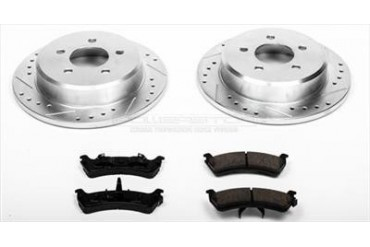 Power Stop Performance Brake Upgrade Kit K1858 Replacement Brake Pad and Rotor Kit
