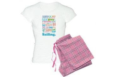 Sailing Occupation Women's Light Pajamas by CafePress