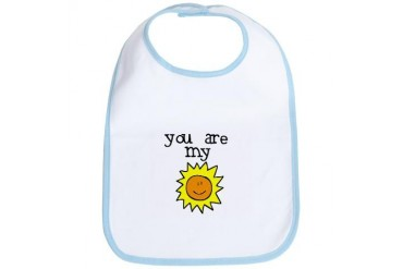 Sunshine Baby Bib by CafePress