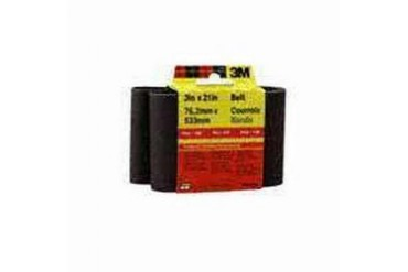 10 Pack 3M 9284-2 3X18In X-Crse Sanding Belt