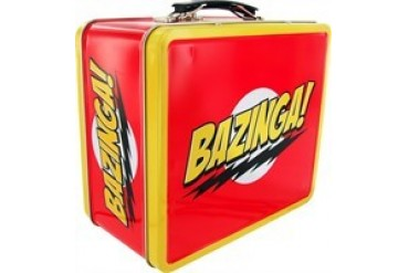 Big Bang Theory Bazinga Metal Lunch Box