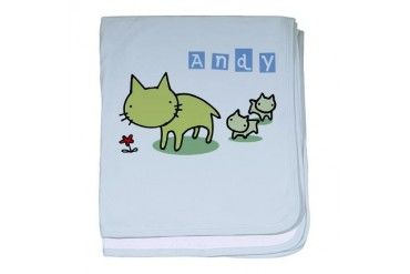 Andy Cute baby blanket by CafePress