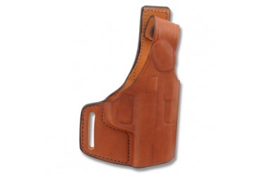 "Bianchi Model 75 Venom Belt Slide Holster - S&W M&P 40/9mm/.40 - 3.5""-5""BBL - Tan - Right Han"