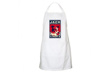 Obey the Jack Russell! BBQ Apron
