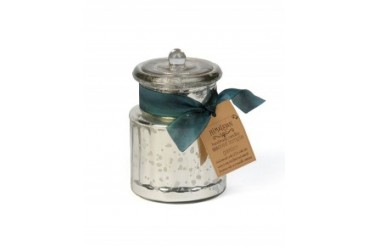 Himalayan General Store 'Sacred Temple Garden' Candle Silver