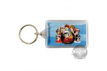 Speed Racer Faces Lucite Keychains