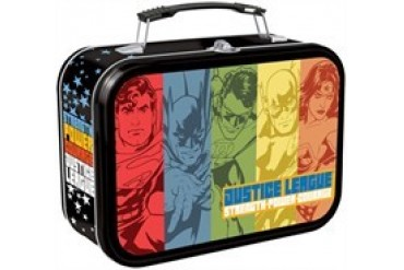 DC Comics Justice League Hero Panels Tin Tote Lunch Box