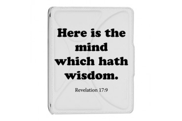 Revelation 17:9 Christian iPad 2 Cover by CafePress