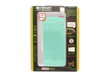 Mercury Case Anti-fingerprint Color Film iPhone 5 [Mint]