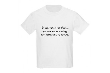 If you voted for Obama Kids Light T-Shirt