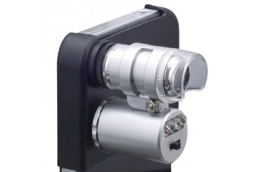 FDL Dc for Apple Iphone 4 60x Magnify Microscope with LED Light